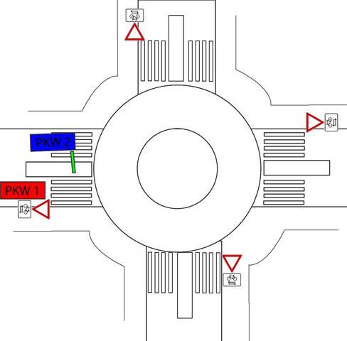 Bild 3 - (Auto, Fahrrad, Unfall)