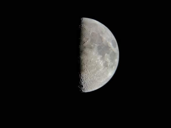 Ränder vom Mond unscharf?