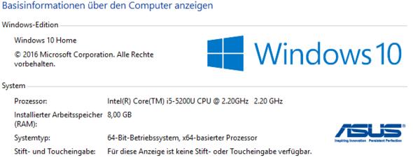 Systeminformationen meines Laptop's! - (Steam, System, Texturen)