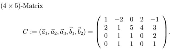 Rang einer Matrix gleich dem Rang der transponierten Matrix?