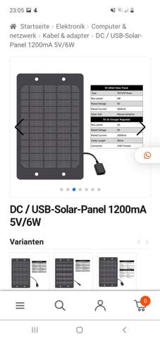 Rasberry pi solarzelle?