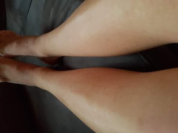 Rasierte Beine bei Jungs?
