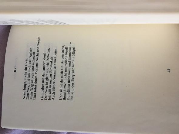 Rat Hermann Hesse Schule Gedicht