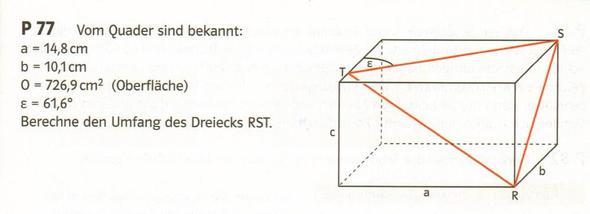 Aufgabe - (Mathe, raumgeometrie)