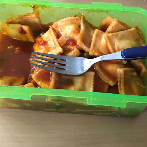 Hier ein Bild meiner Ravioli 😄 - (essen, Lecker, Nudeln)
