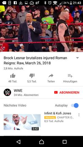 - (Filme und Serien, WWE, Kampf)