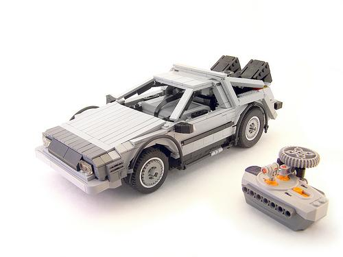 rc delorean von lego shoppen modellbau. Black Bedroom Furniture Sets. Home Design Ideas