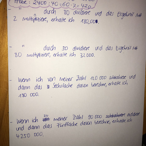 Aufgabenblatt - (Schule, Mathe, Mathematik)