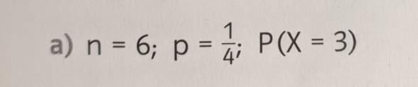 Rechnen mit Formel von Bernoulli? Brauche Starthilfe?