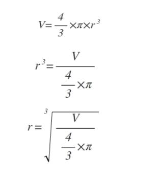 Formeln für die Volumenumrechnung - (Mathe, Mathematik, Physik)