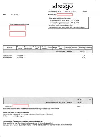 Rechnungsadresse Lieferadresse Mahnungen Und Inkasso Rechnung