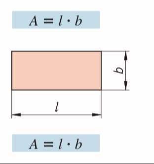 Rechteck rechnen Flächenberecgnung und Einheiten?