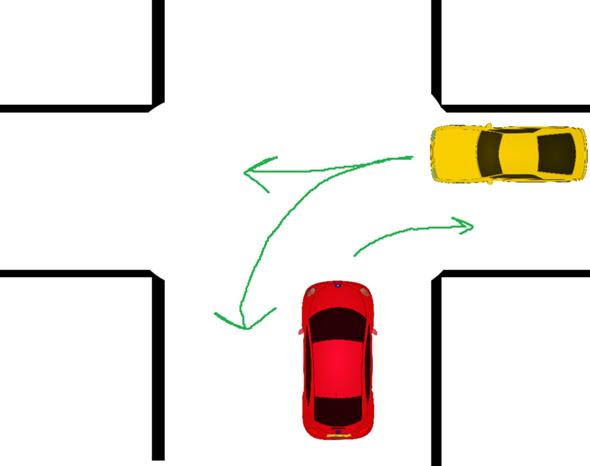 Rechts vor Links | Vorfahrt beim Rechtsabbiegen? (Auto und