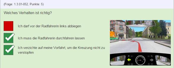Situation 2 - (Auto, Lehrer, Verkehr)