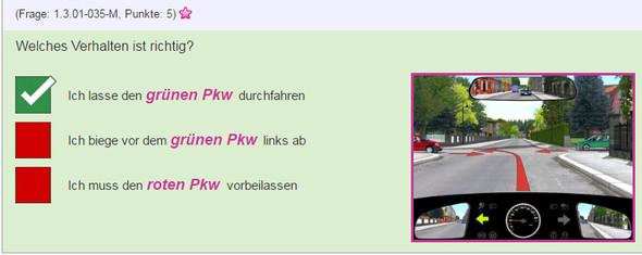 Situation 3 - (Auto, Lehrer, Verkehr)