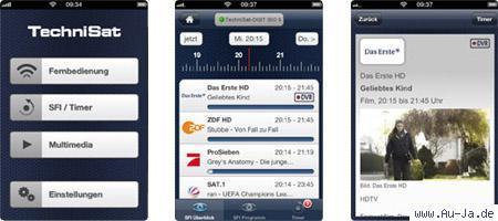 my technisat app - (iPhone, App, Netzwerk)