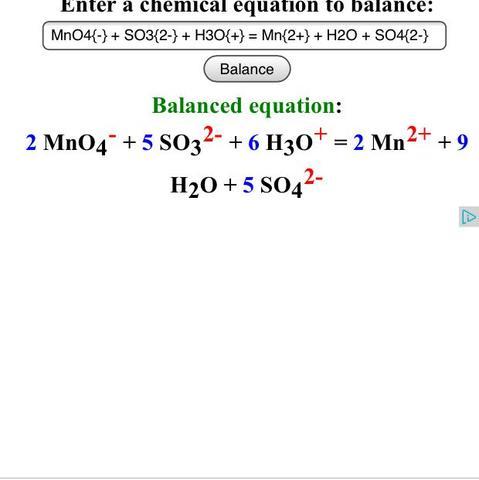 Redoxgleichung  - (Chemie, Redoxgleichung)