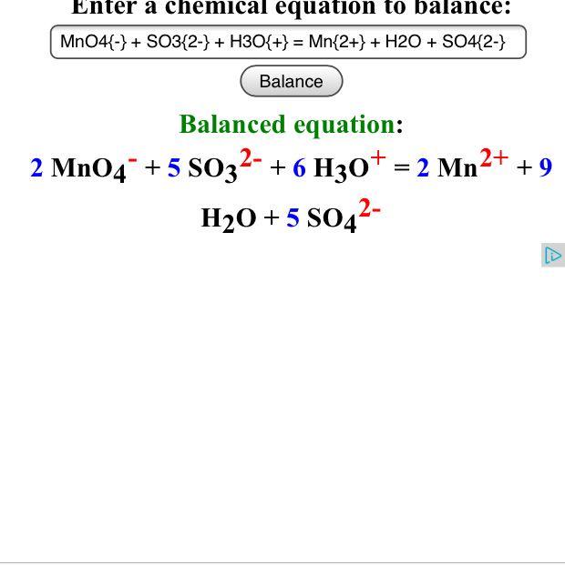 Mno4 Oxidationszahl