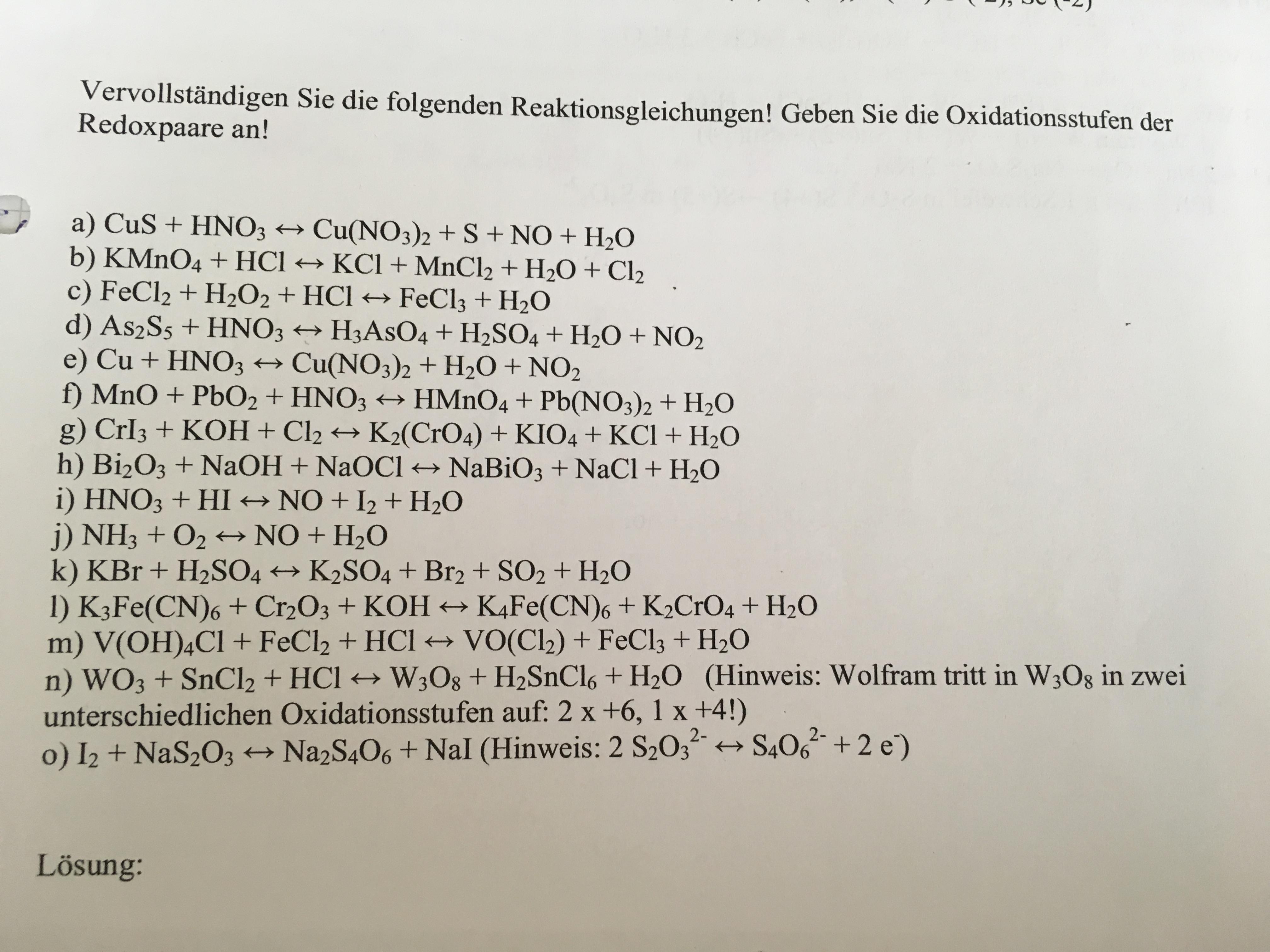 Nett Antworten Für Chemische Gleichungen Arbeitsblatt Ausgleich ...