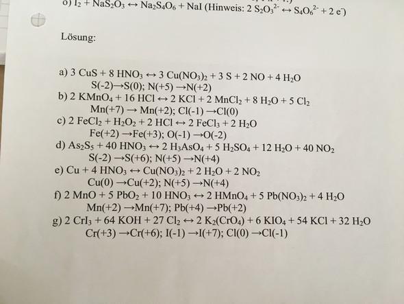 ..hh - (Chemie, Gleichungen, ausgleich)