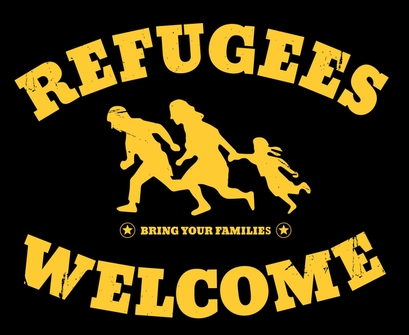 refugees welcome logo - (Computer, Grafik, Design)
