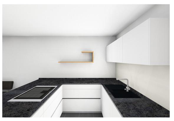 Küche Seite - (Küche, regal)