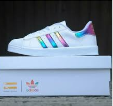 superstars adidas regenbogen
