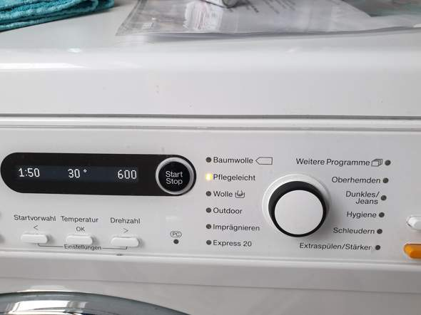 wellensteyn jacke in waschmaschine