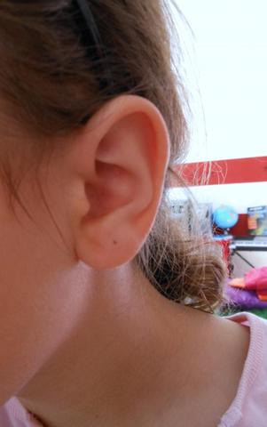 Mein Ohr ;) - (Ohr, Schmuck, Ohrringe)