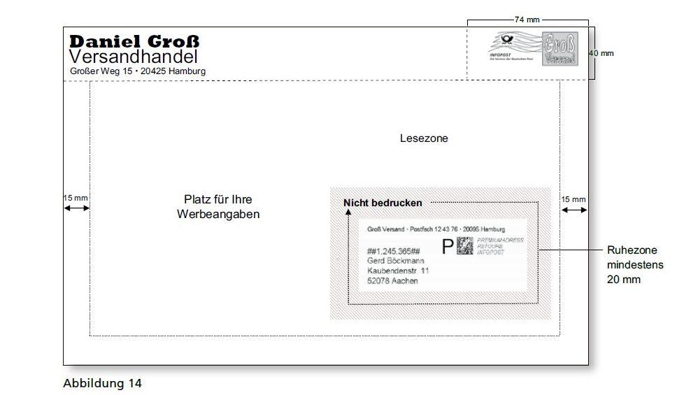 Reicht Nur Die Internetmarke Als Beschriftung Aus Post