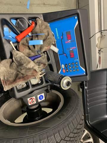 Reifenwuchtmaschine hofmann geodyna 7100 funktion?