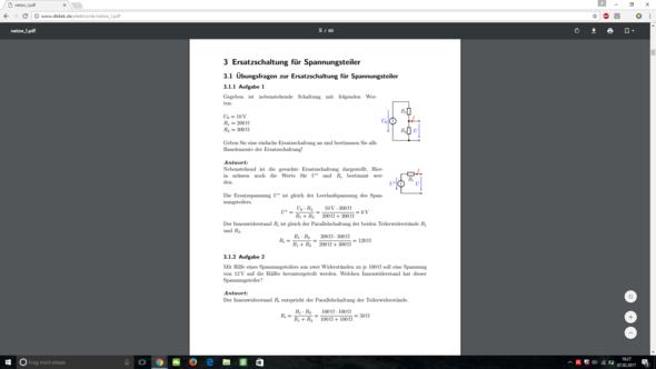 Aufgabe - (Physik, Elektrik)