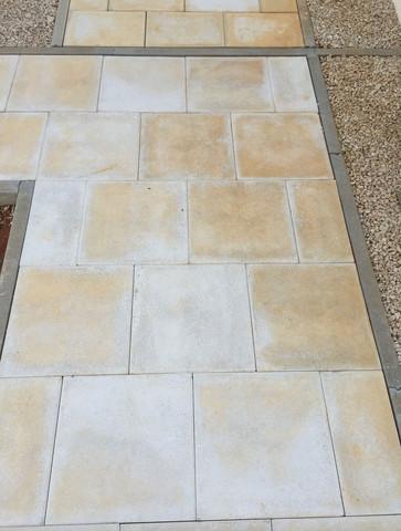 Reinigungsmittel für Betonplatten/Terrassenplatten?