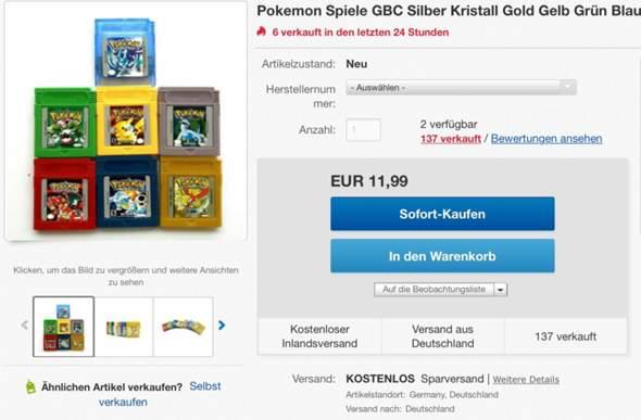 Repro Nintendo Spiele verkaufen legal?