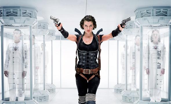 Milla Jovovich - (Zombie, Resident Evil, Apokalypse)