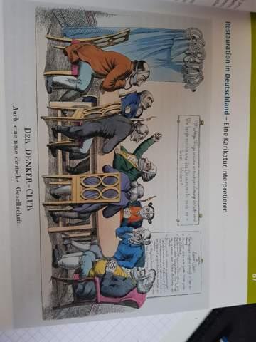 - (Schule, Geschichte, Karikatur)