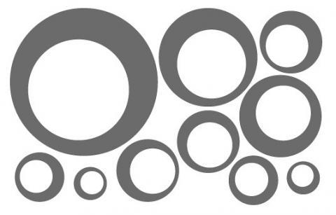 Retro Kreise An Die Wand Malen Aber Wie Renovieren Kreis