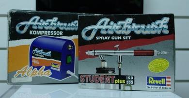 die pistole - (Modellbau, reinigen, lackieren)