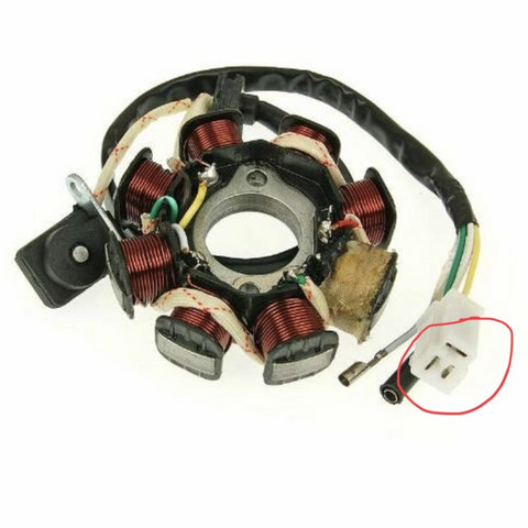 Rex rs 460 Lichtmaschine und CDI?
