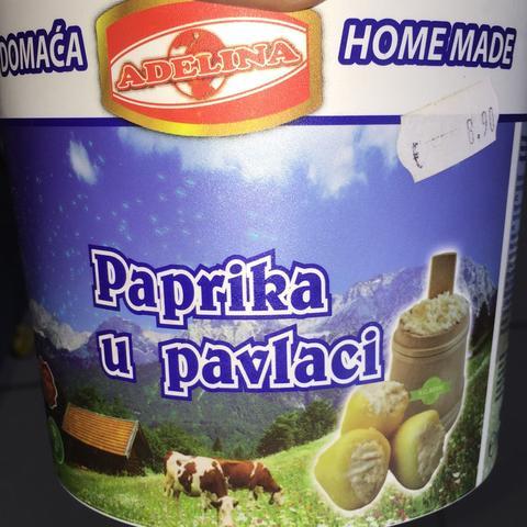 Paprika u pavlaci - (kochen, Rezept, Küche)
