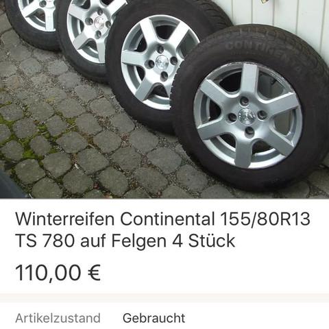 ....... - (Auto, KFZ, Reifen)