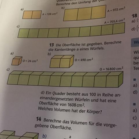 Aufgabe 13 - (Schule, Mathe, Wurzel)