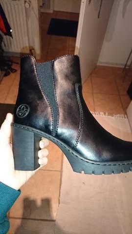 Rieker Schuhe echtleder?