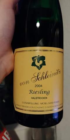 Riesling Wein 2004 noch trinkbar?