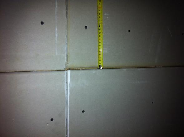 Rigips Decke1   (FALSCH, Montage, Decke)