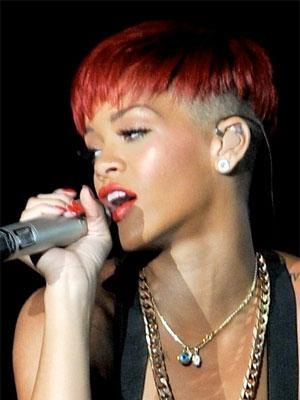 rihannas rote haare 2 - (Frisur, Tochter, Rihanna)