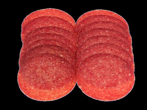 Rinder Salami schmeckt nach Salat/Salatdressing?