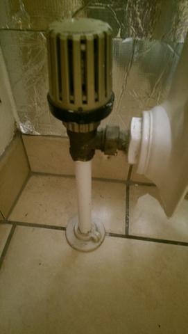 Zulauf mit Thermostat - (Heizung, renovieren, isolieren)