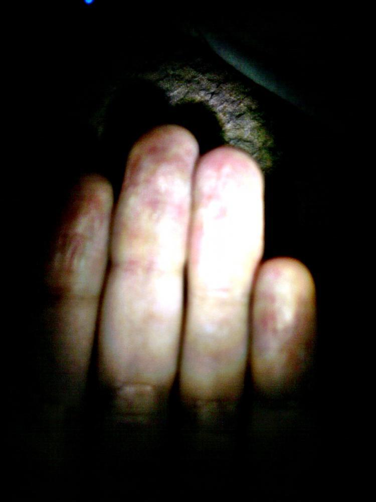 frage kann mich beim fingern entspannen