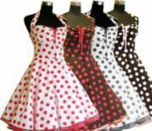 Schnittmuster 50er kleid rockabilly